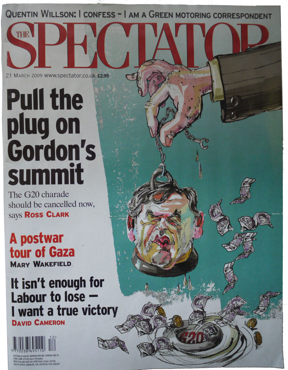 Spectator Cover Illustration