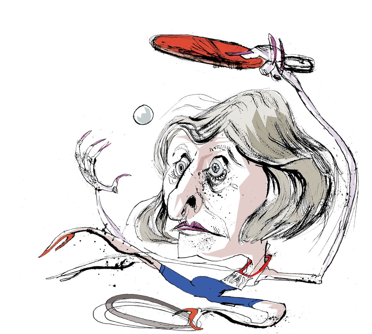 Illustration for The Times