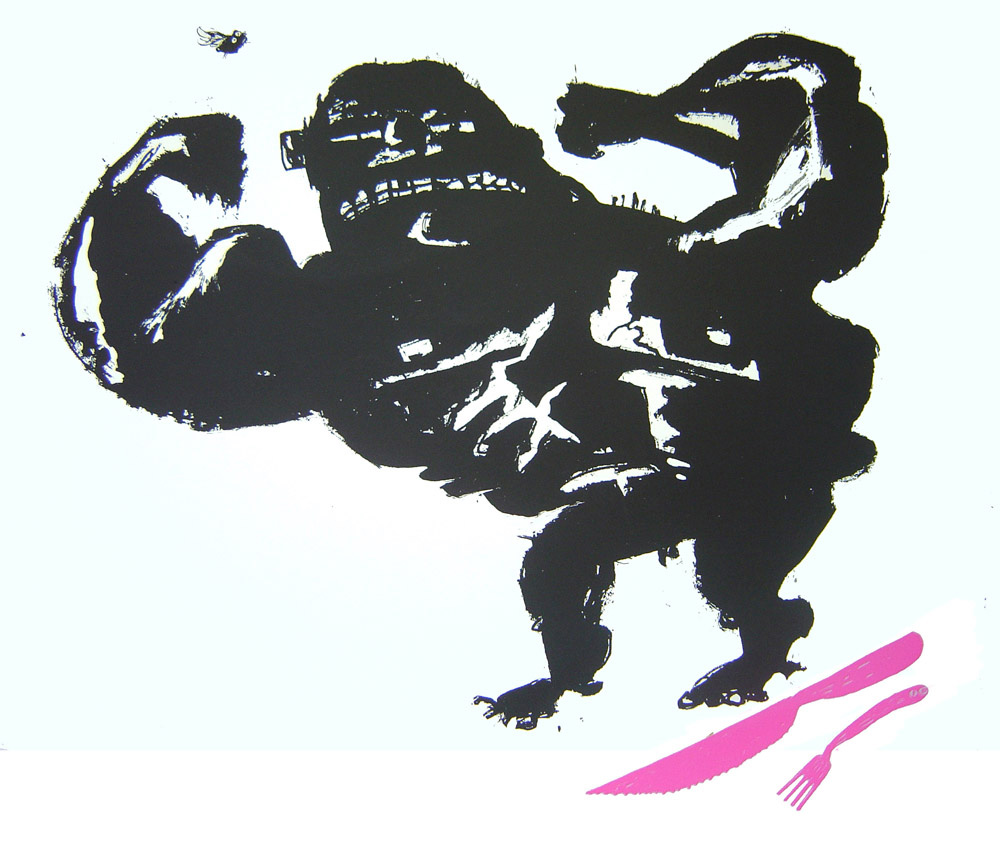 Strong Man Screenprint